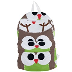 Clip Art Animals Owl Foldable Lightweight Backpack