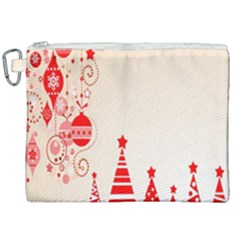 Christmas Clipart Wallpaper Canvas Cosmetic Bag (xxl)