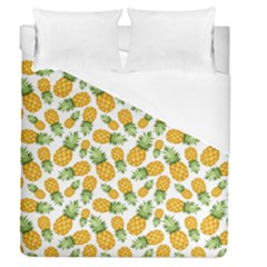 Pineapple Pattern Duvet Cover (queen Size) by goljakoff