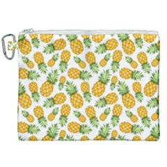 Pineapple Pattern Canvas Cosmetic Bag (xxl) by goljakoff