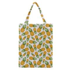 Pineapple Pattern Classic Tote Bag by goljakoff