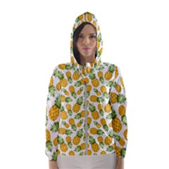 Pineapple Pattern Hooded Wind Breaker (women) by goljakoff