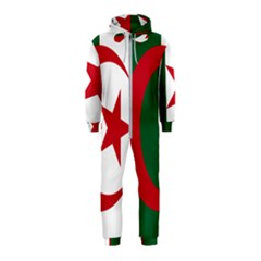 Roundel Of Algeria Air Force Hooded Jumpsuit (kids) by abbeyz71