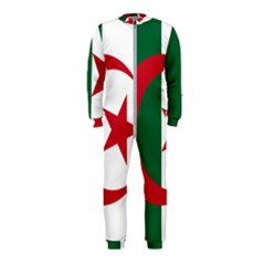 Roundel Of Algeria Air Force Onepiece Jumpsuit (kids) by abbeyz71