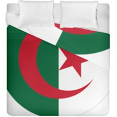 Roundel Of Algeria Air Force Duvet Cover Double Side (king Size) by abbeyz71