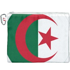 Roundel Of Algeria Air Force Canvas Cosmetic Bag (xxxl) by abbeyz71