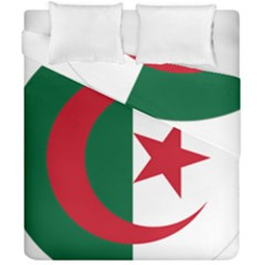 Roundel Of Algeria Air Force Duvet Cover Double Side (california King Size) by abbeyz71