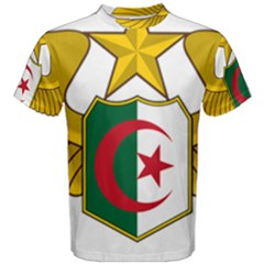 Badge Of The Algerian Air Force  Men s Cotton Tee by abbeyz71