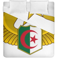 Badge Of The Algerian Air Force  Duvet Cover Double Side (king Size) by abbeyz71