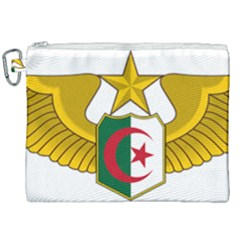 Badge Of The Algerian Air Force  Canvas Cosmetic Bag (xxl) by abbeyz71