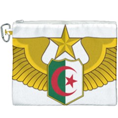 Badge Of The Algerian Air Force  Canvas Cosmetic Bag (xxxl) by abbeyz71