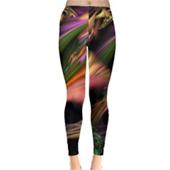 Color Burst Abstract Leggings
