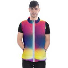 Colorful Glowing Men s Puffer Vest by Sapixe