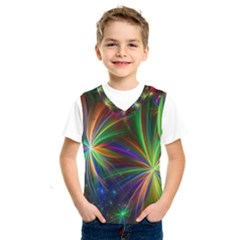 Colorful Firework Celebration Graphics Kids  Sportswear