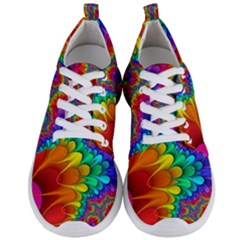 Colorful Trippy Men s Lightweight Sports Shoes