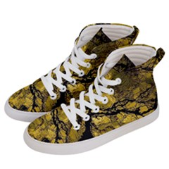 Colorful The Beautiful Of Traditional Art Indonesian Batik Pattern Men s Hi Top Skate Sneakers by Sapixe