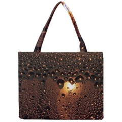 Condensation Abstract Mini Tote Bag by Sapixe
