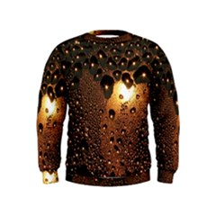 Condensation Abstract Kids  Sweatshirt by Sapixe