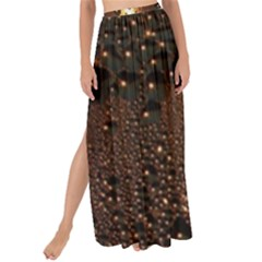 Condensation Abstract Maxi Chiffon Tie Up Sarong by Sapixe