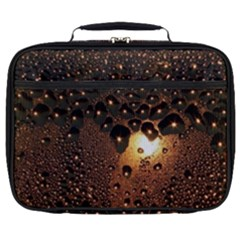 Condensation Abstract Full Print Lunch Bag by Sapixe
