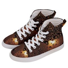 Condensation Abstract Men s Hi Top Skate Sneakers by Sapixe