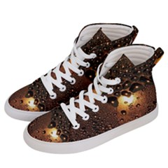 Condensation Abstract Women s Hi Top Skate Sneakers by Sapixe
