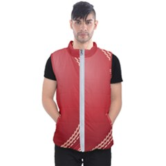Cricket Ball Men s Puffer Vest