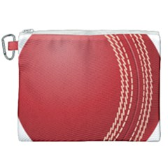 Cricket Ball Canvas Cosmetic Bag (xxl) by Sapixe