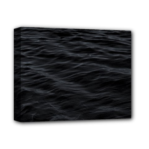 Dark Lake Ocean Pattern River Sea Deluxe Canvas 14  X 11  by Sapixe