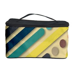 Background Vintage Desktop Color Cosmetic Storage Case by Nexatart