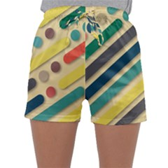 Background Vintage Desktop Color Sleepwear Shorts