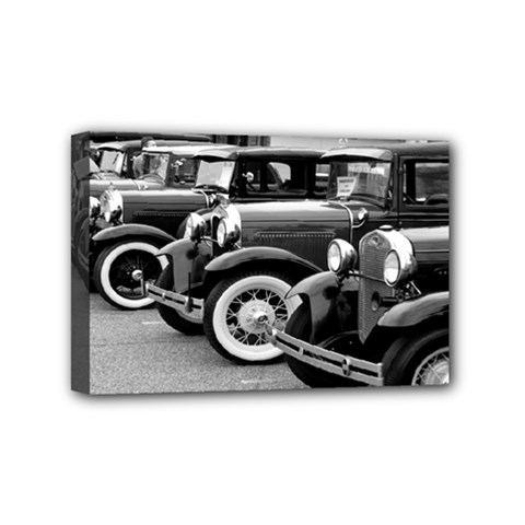 Vehicle Car Transportation Vintage Mini Canvas 6  X 4  by Nexatart