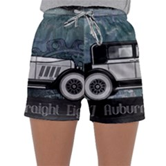Vintage Car Automobile Auburn Sleepwear Shorts