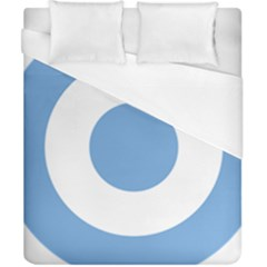 Roundel Of Argentine Air Force Duvet Cover (california King Size) by abbeyz71