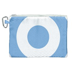 Roundel Of Argentine Air Force Canvas Cosmetic Bag (xl) by abbeyz71