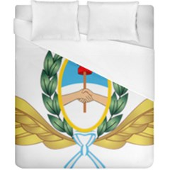 The Argentine Air Force Emblem  Duvet Cover (california King Size) by abbeyz71