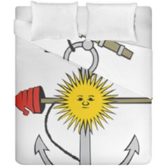 Symbol Of Argentine Navy  Duvet Cover Double Side (california King Size) by abbeyz71
