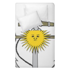 Symbol Of Argentine Navy  Duvet Cover Double Side (single Size) by abbeyz71