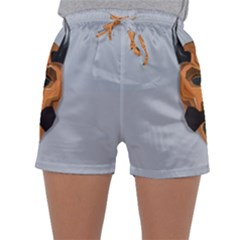 Mask India South Culture Sleepwear Shorts