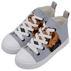 Mask India South Culture Kid s Mid Top Canvas Sneakers by Nexatart