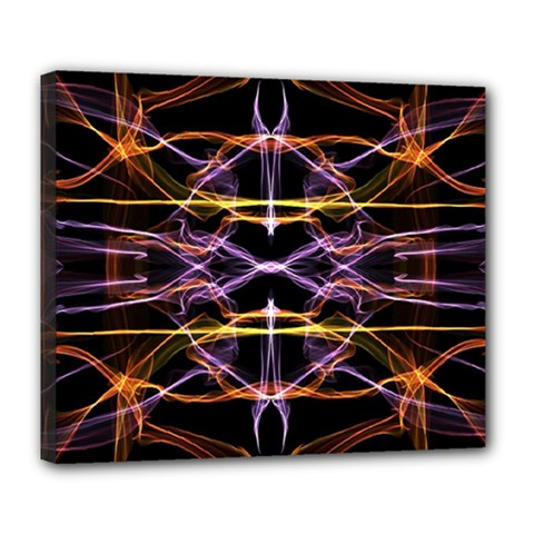 Wallpaper Abstract Art Light Deluxe Canvas 24  X 20