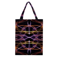 Wallpaper Abstract Art Light Classic Tote Bag