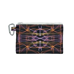 Wallpaper Abstract Art Light Canvas Cosmetic Bag (small)