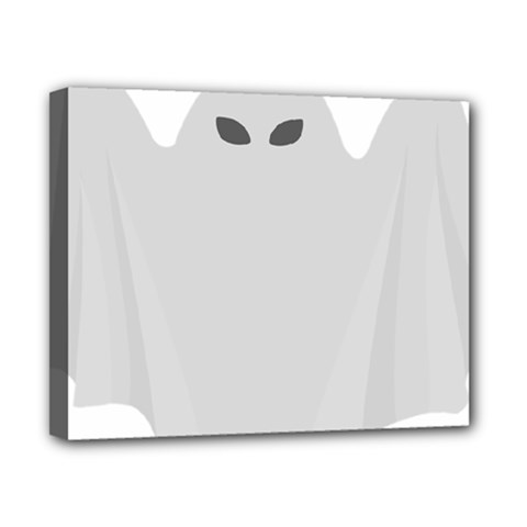 Ghost Halloween Spooky Horror Fear Canvas 10  X 8  by Nexatart