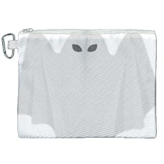 Ghost Halloween Spooky Horror Fear Canvas Cosmetic Bag (xxl)