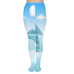 Landscape Winter Ice Cold Xmas Women s Tights by Nexatart