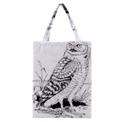 Animal Bird Forest Nature Owl Classic Tote Bag