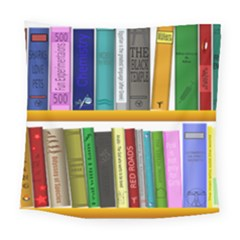 Shelf Books Library Reading Square Tapestry (large)