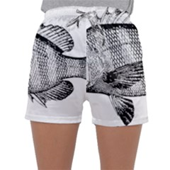 Animal Fish Ocean Sea Sleepwear Shorts