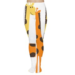 Giraffe Africa Safari Wildlife Women s Tights